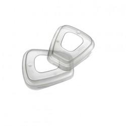 Bagues de maintien 3M 501 pour filtres x 2