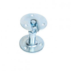 Support de rampe droit réglable 55 à 70 mm en acier zingué Klose Besser
