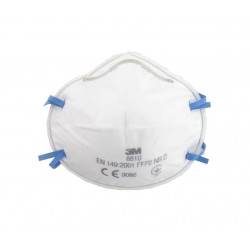 Masque 3M 8810 anti-poussières FFP2 sans soupape