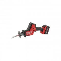 Scie sabre compacte MILWAUKEE FUEL M18 FHZ-502X - 2 batterie 18V 5.0 Ah - 1 chargeur M12-18FC 4933459885