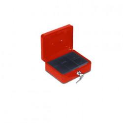 Caissette à monnaie Stark PV03 rouge 250x90x180mm