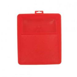 Bac de peinture 23 x 26 cm rouge Soloplast