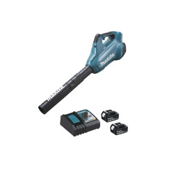 Souffleur brushless MAKITA 36V - 2 batteries 3.0Ah 18V - 1 chargeur rapide DC18RC DUB362RF2