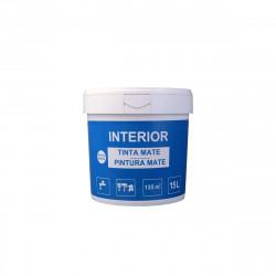 Peinture mate intérieur - Blanc - 15L