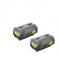 Pack RYOBI batterie 36V Lithium Plus 2,6Ah BPL3626D x2