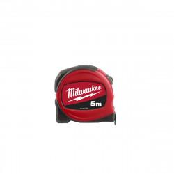 Mètre ruban Slimline MILWAUKEE 5m largeur 19 mm - 48227705