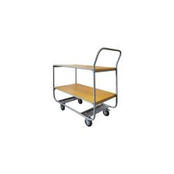 Servante 200 kg plateau bois 850x430 mm