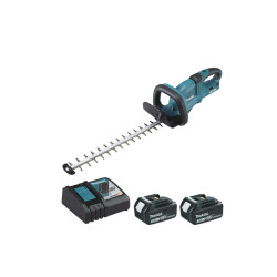 Taille-haies MAKITA 36V - 2 batteries 18V 3.0Ah - 1 chargeur rapide DC18RC DUH551RF2