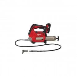 Pompe à graisse MILWAUKEE M18 GG-201C - 1 batterie 18V 2.0 Ah - 1 chargeur M12-18C 4933440490