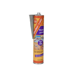 Mastic colle polyuréthane SIKA Sikaflex 11 FC Plus - Gris - 380g