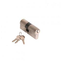 Cylindre en nickel 30 x 50 mm avec 3 clés Klose Besser