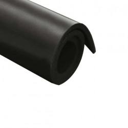 Feuille caoutchouc néoprène 2 plis toiles 100x140cm épaisseur 5mm