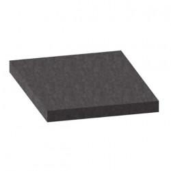 Mousse de filtration PPI-10 noire 2x1m épaisseur 20mm