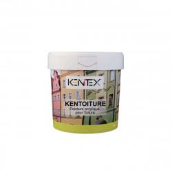 Peinture acrylique pour Toiture KENITEX Kentoiture - ardoise RAL 7021 - 15L