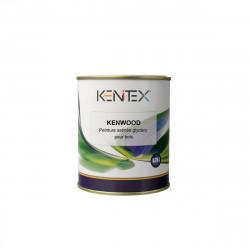 Peinture satinée glycéro pour bois KENITEX Kenwood - RAL 7040 gris - 2,5L