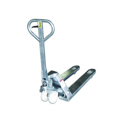 Transpalette Premium manuel - acier galvanisé - 2500 kg
