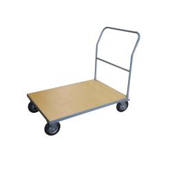 Chariot de manutention - plateau en bois - 500 kg