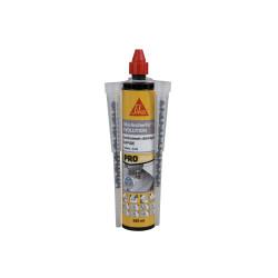 Résine de scellement chimique rapide SIKA Anchorfix-1 Evolution - Gris - 300ml