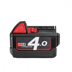Batterie MILWAUKEE M14 B4 REDLITHIUM Li-Ion 4.0 Ah 4932430323