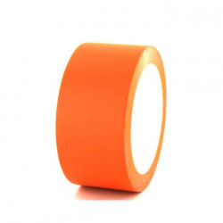 Ruban adhésif vinyle orange 50mm x5