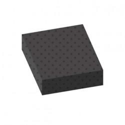 Tapis pastilles norme bâtiment gris 100x100cm épaisseur 3mm