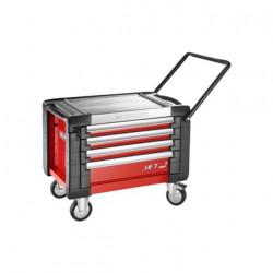 Coffre roulant Facom rouge JET 4 tiroirs