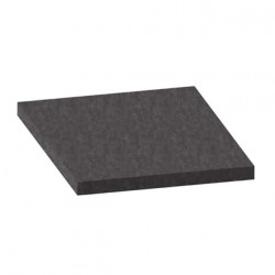 Mousse de filtration PPI-10 noire 2x1m épaisseur 15mm
