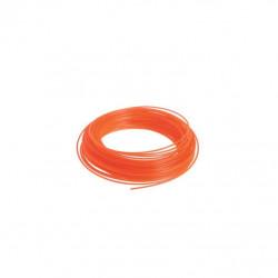 Bobine fil rond RYOBI 15m diamètre 1.2mm orange universel RAC100