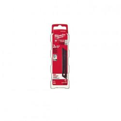 Pack de 10 lames sécables 25 mm pour cutter Metal Lock Milwaukee 48229125