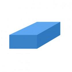 Mousse de protection 1x1m bleue non-adhésive épaisseur 20mm