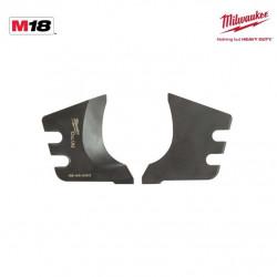 Lames de rechange pour mâchoire M18 HCC CU/AL-SET MILWAUKEE 4932464498