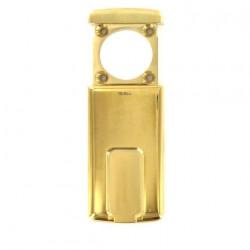 Protection magnétique pour cylindre rond Disec diamètre 37mm maximum laiton brillant