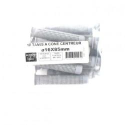 Pack de 10 Tamis à cone centreur BATIFIX diamètre 16 x 85mm
