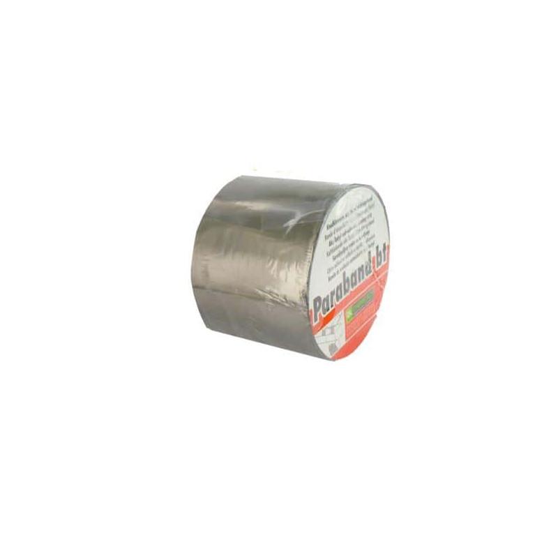 Bande d' étanché ité autocollante DL Chemicals alu butyl 100mm x 10m - Bande de caoutchouc/Bande ...