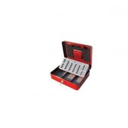 Caissette à monnaie euro rouge Stark PE01 300x90x240 mm