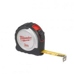 Mètre ruban 3m MILWAUKEE compact 16mm 4932451637