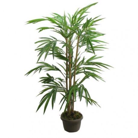 Bambou premium artificiel 4 tiges - 130cm