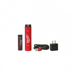 Pack batterie et chargeur pour éclairages personnels MILWAUKEE L4NRG-201 - 1 batterie 4V 2.5Ah - 1 chargeur avec câble USB - 1 adaptateur 4932459448