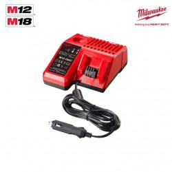 Chargeur de voiture MILWAUKEE M12-18 AC 4932459205