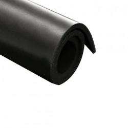 Feuille caoutchouc néoprène 100x140cm épaisseur 5mm