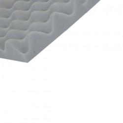 Mousse à picot M1 mélamine 125x125 cm épaisseur 45mm densité 11kg par m3