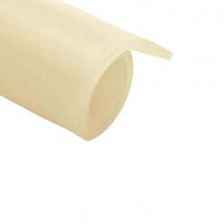 Feuille caoutchouc silicone translucide 100x120cm épaisseur 3mm