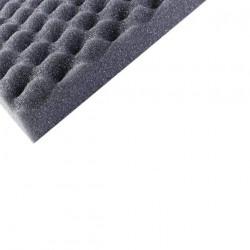 Mousse à picot standard polyuréthane 200x100 cm épaisseur 45 mm densité 33kg par m3