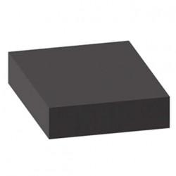 Mousse de protection 1x1m noire non-adhésive épaisseur 15mm
