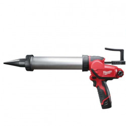 Pistolet à Colle 400ml MILWAUKEE M12 PCG 400A 201B 12V Li-Ion 2.0Ah 4933441665