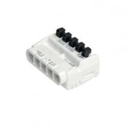 Bornes de connexion rapide à languette BizLine 5 entrées x50