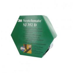 Ruban adhésif caoutchouc 3M Dual Lock SJ352D 1mètre