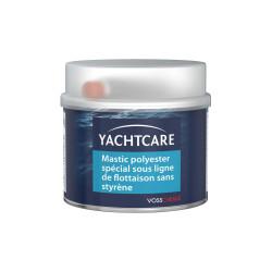 Mastic polyester Yachtcare spécial sous ligne de flottaison 500g avec durcisseur