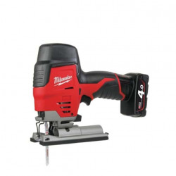 Mini scie sauteuse MILWAUKEE M12 JS 402B 12V Li-Ion 4.0Ah 4933441700