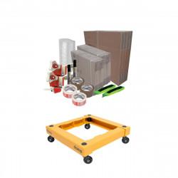 Pack déménagement Basique DUO - chariot de transport DOZOP compact démontable